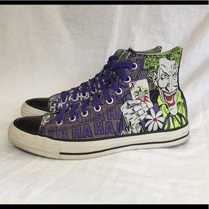da2c811d5347 Converse Shoes - Converse All Star Joker vs Batman Hi Top Shoes